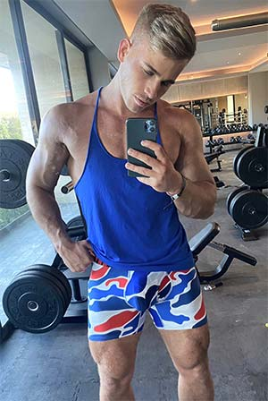 Hot blonde stud in Honolulu HI