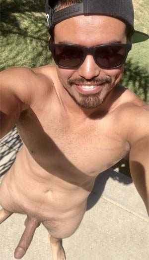 Hung Latino single sun bathing Fort Lauderdale, FL